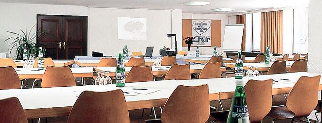 Hotel Chur - Seminarraum für unsere Pensionierungsseminare in Graubünden
