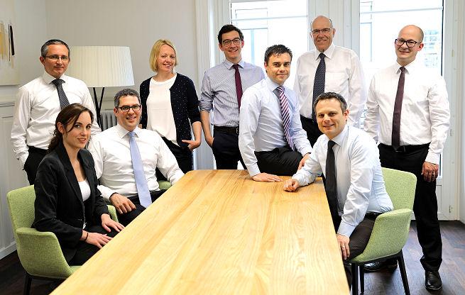 Team VermögensPartner AG - Spezialisten bei der finanziellen Planung Ihrer Pensionierung